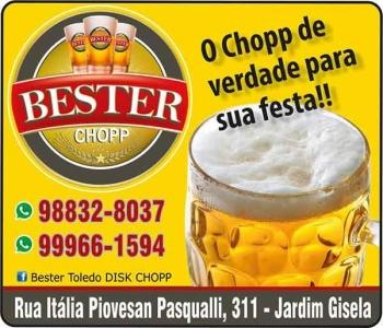 BESTER TOLEDO DISTRIBUIDORA DE CHOPP DISK