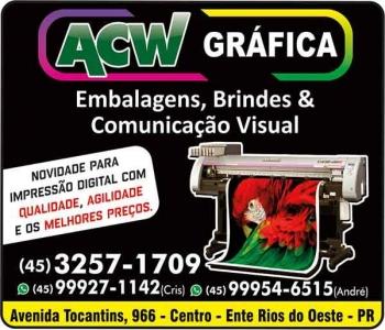 ACW GRÁFICA E COMUNICAÇÃO VISUAL