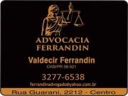 Cartão: FERRANDIN ADVOCACIA