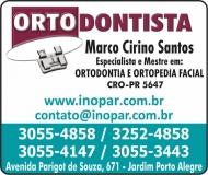 MARCO CIRINO SANTOS Dr. Cirurgião Dentista / Ortodontia ODONTOLOGIA