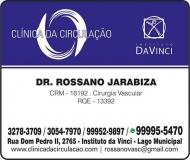 CLÍNICA DA CIRCULAÇÃO - CIRURGIA VASCULAR