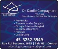 CAMPAGNARO ODONTOLOGIA Clínica Odontológica / Cirurgião Dentista