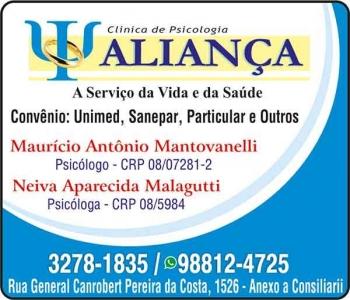 CLÍNICA DE PSICOLOGIA ALIANÇA