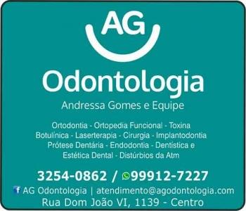 AG ODONTOLOGIA CLÍNICA ODONTOLÓGICA CIRURGIÃO DENTISTA