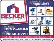 Cartão: BECKER LOCADORA DE MÁQUINAS AM LOCAÇÕES