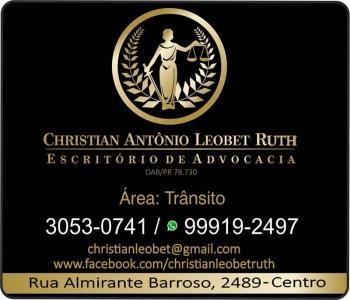 CHRISTIAN A. LEOBET RUTH DR. ADVOCACIA