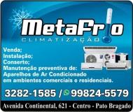 METAFRIO CLIMATIZAÇÃO  / AR-CONDICIONADO / REFRIGERAÇÃO