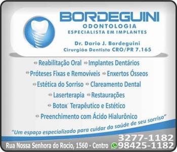 BORDEGUINI ODONTOLOGIA Clínica Odontológica e Cirurgião Dentista