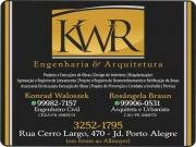 Cartão: KWR ENGENHARIA E ARQUITETURA Engenharia Civil e Arquitetura