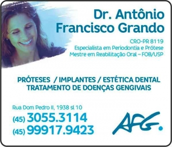 AFG ODONTOLOGIA Clínica Odontológica / Cirurgião Dentista
