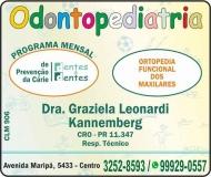 DENTES & DENTES ODONTOPEDIATRIA - ODONTOLOGIA Clínica Odontológica / Cirurgiã Dentista
