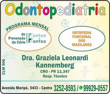 DENTES & DENTES ODONTOPEDIATRIA - ODONTOLOGIA Clínica Odontológica Cirurgiã Dentista