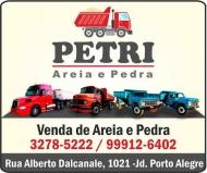 PETRI MATERIAIS DE CONSTRUÇÃO<BR>TRANSPORTADORA DE AREIA E PEDRA