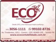 Cartão: ECO ESCRITÓRIO CONTÁBIL CONTABILIDADE