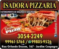 ISADORA PIZZARIA DISK PIZZA