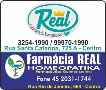 REAL FARMÁCIA DE MANIPULAÇÃO E HOMEOPATIA / MEDICAMENTOS E PERFUMARIAS / DISK REMÉDIOS