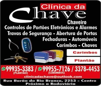 CLÍNICA DA CHAVE CHAVEIRO E CARIMBOS