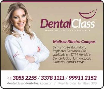 DENTAL CLASS CLÍNICA ODONTOLÓGICA Cirurgião Dentista