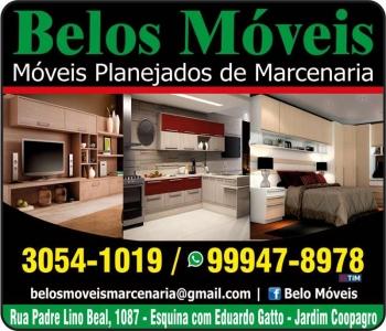 BELOS MÓVEIS MÓVEIS PLANEJADOS / SOB MEDIDA