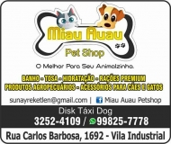 MIAU AUAU PET SHOP E AGROPECUÁRIA