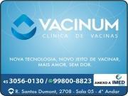 Cartão: VACINUM CLÍNICA DE VACINAS