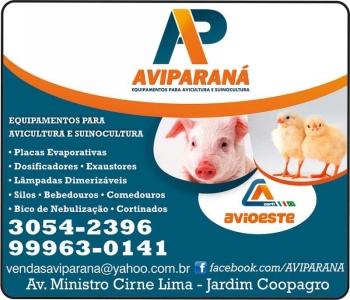 AVIPARANÁ EQUIPAMENTOS PARA AVICULTURA E SUINOCULTURA - AVIOESTE
