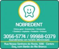 NOBREDENT ODONTOLOGIA INTEGRADA Cirurgiã Dentista / Clínica Odontológica
