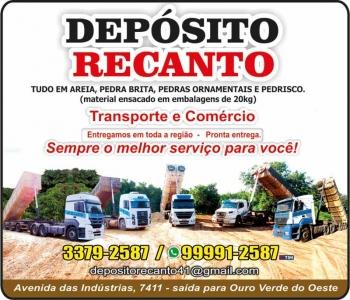 DEPÓSITO RECANTO MATERIAIS DE CONSTRUÇÃO