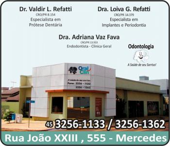 ORAL CLIN CLÍNICA ODONTOLÓGICA VALDIR REFATITI Dr. CIRURGIÃO DENTISTA