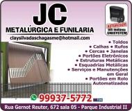 JC METALÚRGICA E FUNILARIA