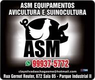 ASM EQUIPAMENTOS / AQUECEDORES PARA CHIQUEIRÃO E AVIÁRIO