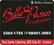 BELLO'S PASSOS CONFECÇÕES