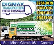 DIGMAX MUDANÇAS TRANSPORTES E FRETES
