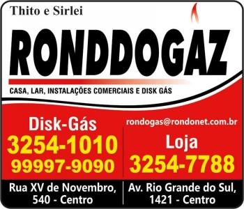 RONDDOGAZ / DISK GÁS / ULTRAGAZ / THITO E SIRLEI