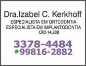 193a - Cirurgião Dentsita Izabel C. Kerkhoff