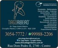 CLÍNICA DE CIRURGIA PLÁSTICA TIAGO ANDRÉ RIBEIRO Dr. Cirurgião Plástico
