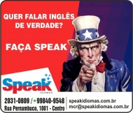 SPEAK ESCOLA DE IDIOMAS E INFORMÁTICA