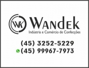 938 - Wandek Uniformes Moda Íntima e Confecções