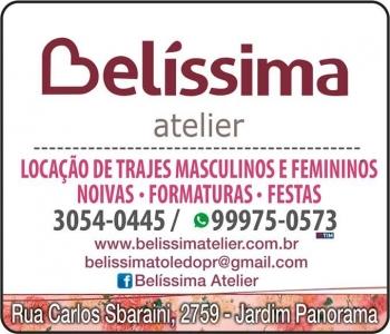 BELÍSSIMA ATELIER LOCAÇÃO DE TRAJES