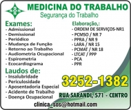 SOS MEDICINA  E SEGURANÇA NO TRABALHO