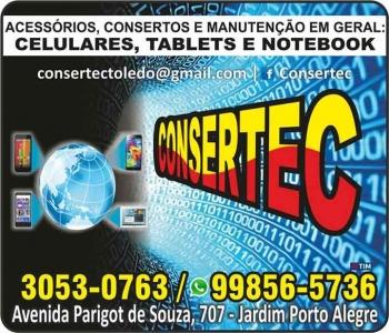 CONSERTEC ASSISTÊNCIA TÉCNICA PARA CELULARES E TABLETS