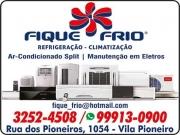 Cartão: FIQUE FRIO REFRIGERAÇÃO E CLIMATIZAÇÃO 2222 AR-CONDICIONADO