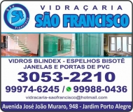SÃO FRANCISCO VIDRAÇARIA