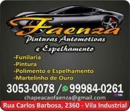 FAENZA CHAPEAÇÃO E PINTURA AUTOMOTIVA