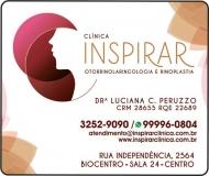 CLÍNICA DE OTORRINOLARINGOLOGIA INSPIRAR  DRA. LUCIANA C PERUZZO