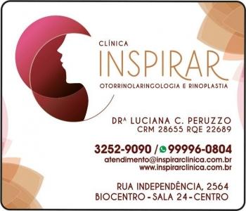 CLÍNICA DE OTORRINOLARINGOLOGISTA LUCIANA C PERUZZO / DISTÚRBIO DE NARIZ / OUVIDO E GARGANTA / RINOPLASTIA / INSPIRAR