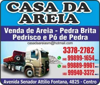 CASA DA AREIA MATERIAIS DE CONSTRUÇÃO