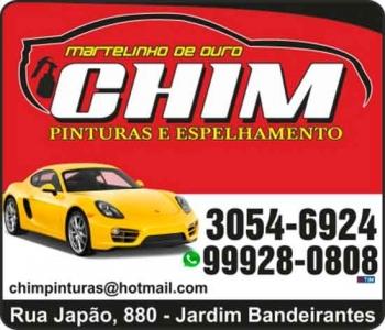 CHIM CHAPEAÇÃO E PINTURA
