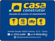 Cartão: CASA DO CONSTRUTOR ALUGUEL DE EQUIPAMENTOS LOCADORA