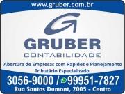 Cartão: GRUBER CONTABILIDADE ESCRITÓRIO CONTÁBIL